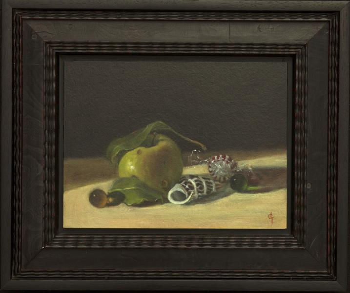 Put a Lid on It, oil on panel, 6 x 8 inches   SOLD