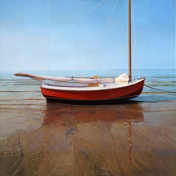 All American, oil on canvas, 36 x 36 inches  SOLD