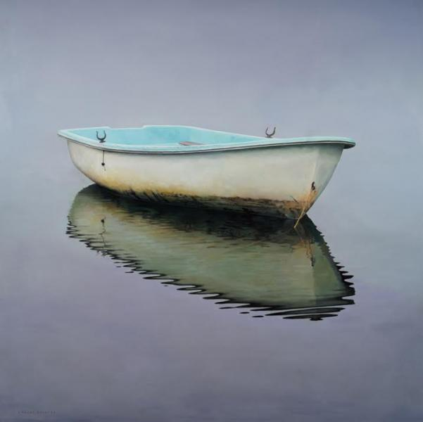Belle, oil on canvas, 46 x 46 inches  SOLD
