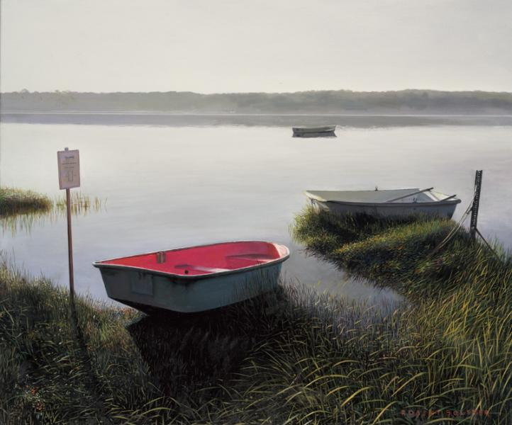 A Brand New Day, oil on canvas, 20 x 24 inches  SOLD