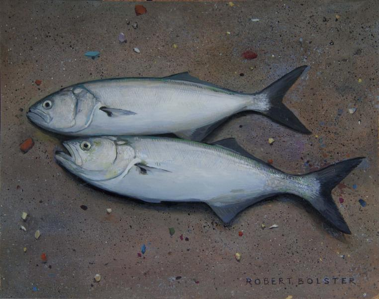 Little Skippers, oil on board, 8 x 10 inches  SOLD