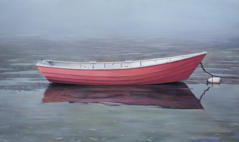 Ocean Rose, oil on linen, 30 x 50 inches, $18,300
