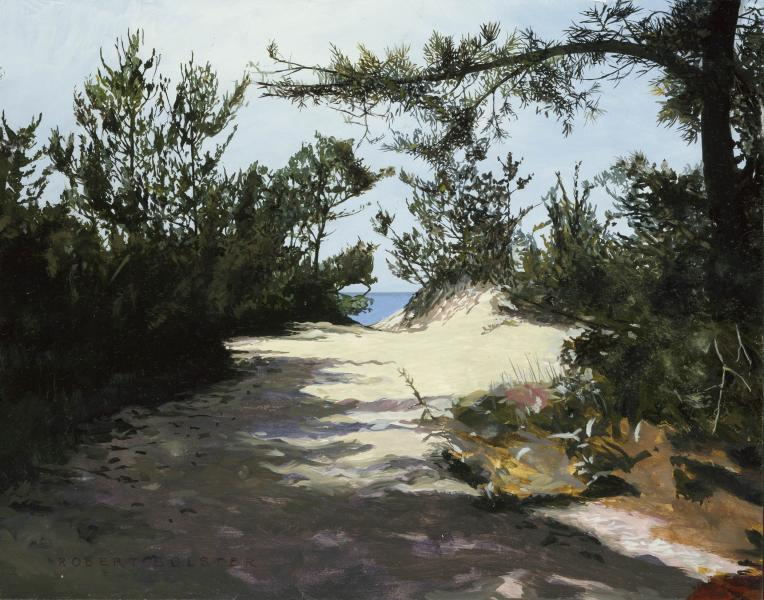 Pathway to Nirvana, Brewster, oil on canvas, 11 x 14 inches, $3,000