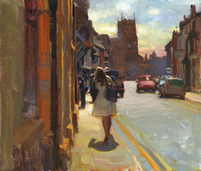 Stratford Upon Avon, oil on canvas, 14 x 12 inches  SOLD