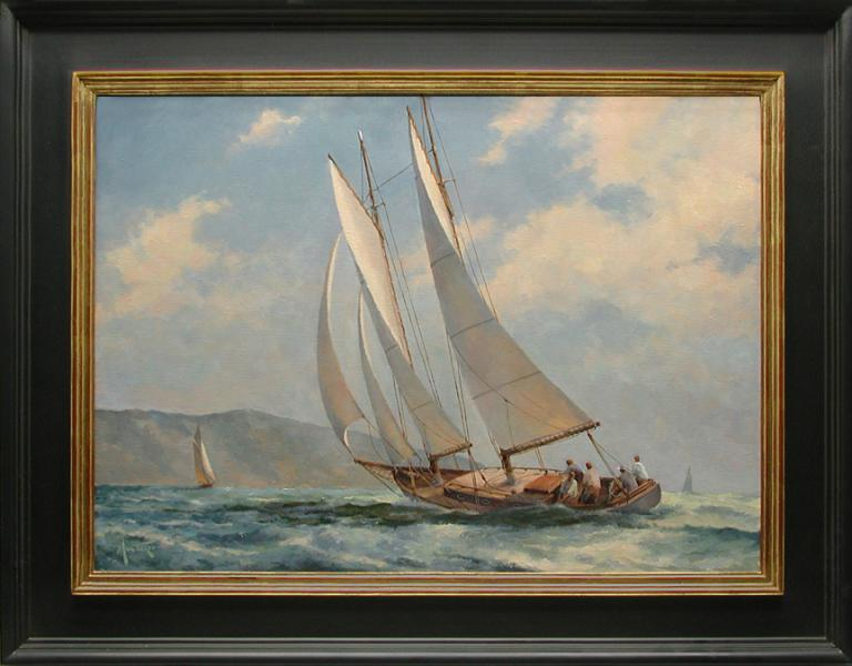 Steady Wind, oil on stretched Belgian linen, 22 x 16 inches, $4,800