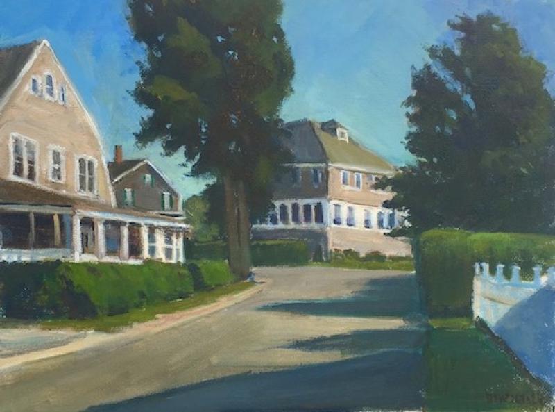 Megansett, oil on canvas panel, 9 x 12 inches, $1,200