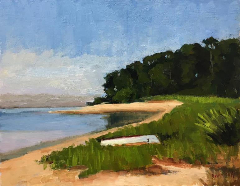 Cove, oil on canvas panel, 11 x 14 inches, $1,600