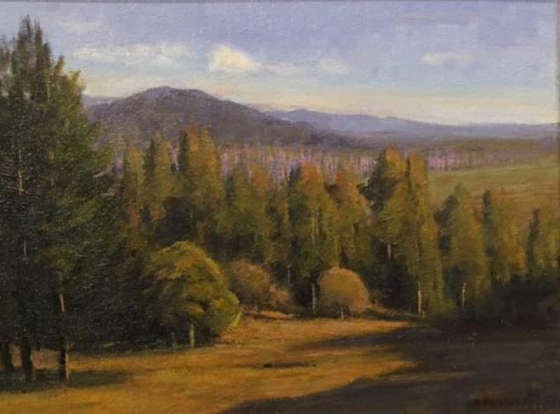 North Country, oil on canvas panel, 12 x 16 inches   SOLD