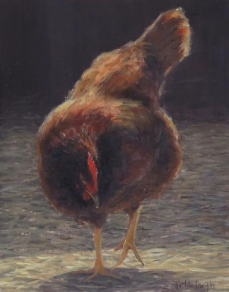 Chicken scratch lr