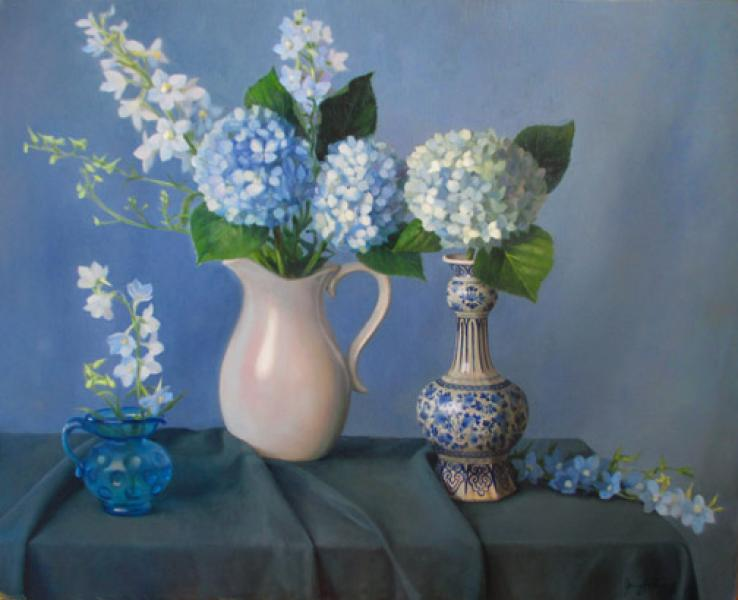 Delft Visions, oil on linen, 24 x 30 inches  SOLD