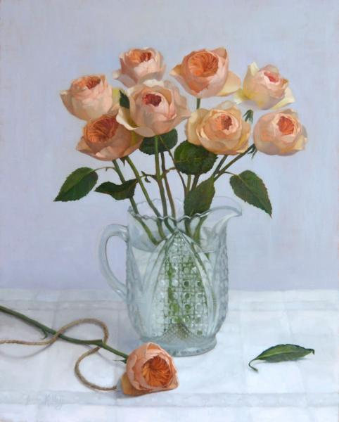 Jenny kelley english roses in white 20x16 oil on linen panel rgb color (1)lr