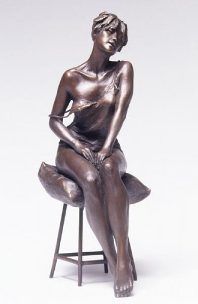 "Amour, Bronze, 17""h x 6""w x 9""d, $7,600"