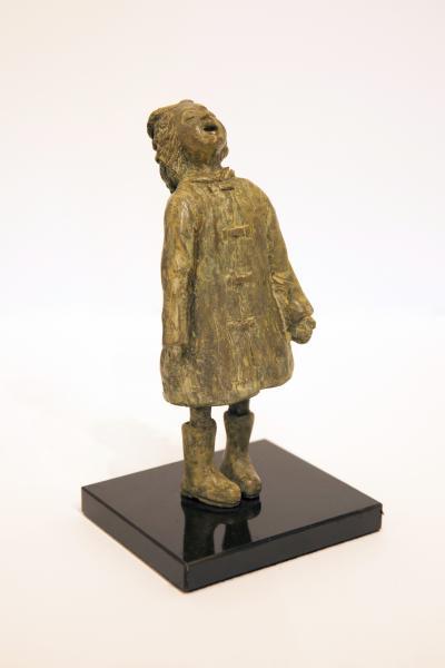 Raincatcher, Bronze, 6 x 3 x 2.5 inches, $935