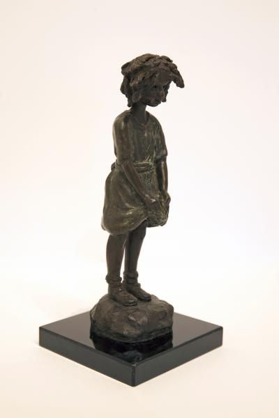 Nettie, Bronze, 8 x 3.5 x 3.5 inches, $960