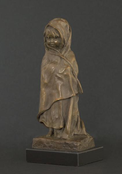 "Leela, Bronze, 9""h X 3 3/4""w X 2 3/4""d , $1,450"