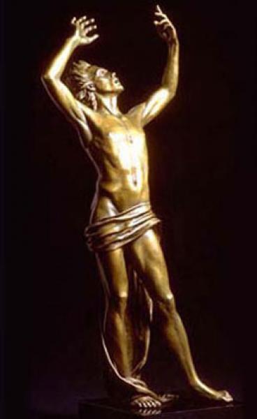 "Supplication, Bronze, 3' 1""h x 15""w x 13""d , $12,000"