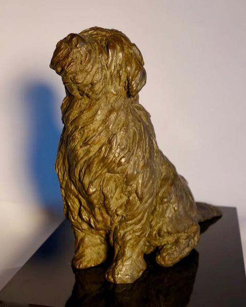 Toby, Bronze, 7 x 5 x 7 inches, $945