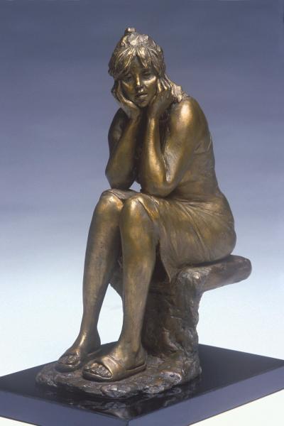 Warm Sunday, Bronze, 11 x 8 x 5.5 inches, $4,500