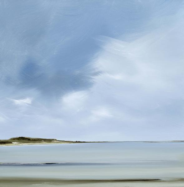 Acclaim, Great Island, Wellfleet, oil on canvas, 20 x 20 inches, $2,500