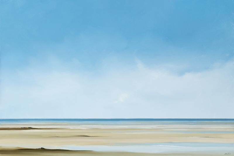 Ambersands, Skaket, Orleans, oil on canvas, 24 x 36 inches, $4,500