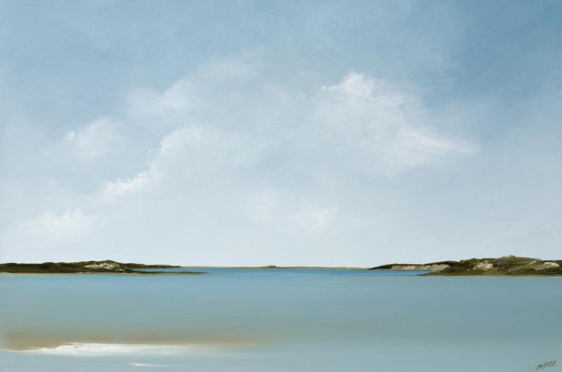 Bay View, oil on canvas, 20 x 30 inches, $3,000
