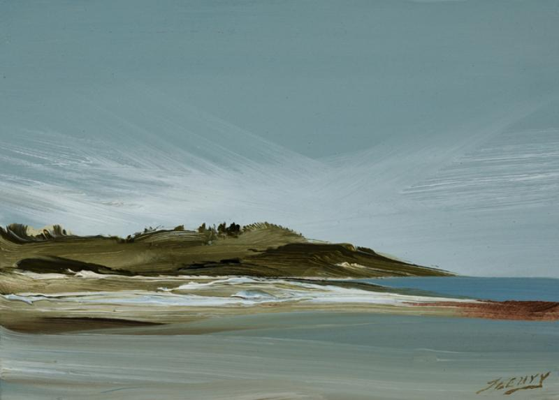 Candor, Eastham, oil on copper, 5 x 7 inches  SOLD
