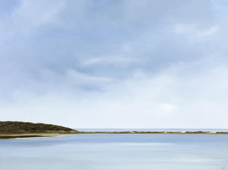Genesis, Great Island, Wellfleet, oil on canvas, 30 x 40 inches, $6,000