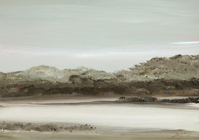 Grove, South Pamet, Truro, oil on copper, 5 x 7 inches  SOLD