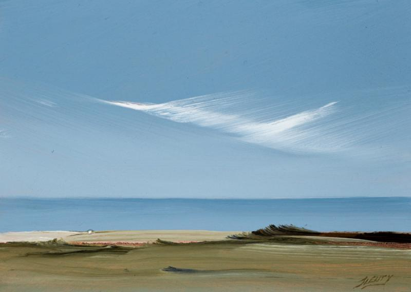 Herring Cove II, oil on copper, 5 x 7 inches  SOLD