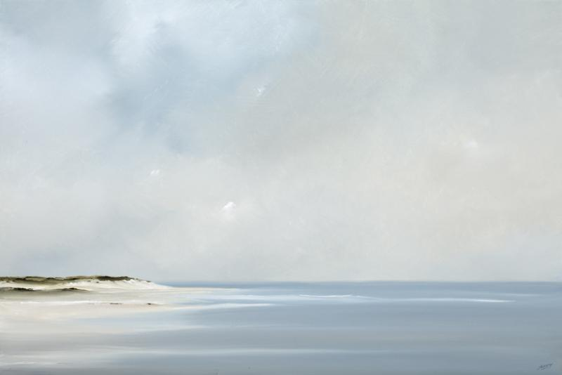 Northwind, Highhead, Truro, oil on canvas, 24 x 36 inches, $4,800
