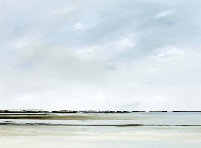 Tracings lll, Nauset, oil on canvas, 30 x 40 inches  SOLD