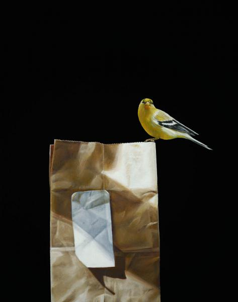 Take Out, oil on canvas, 18 x 14 inches   SOLD