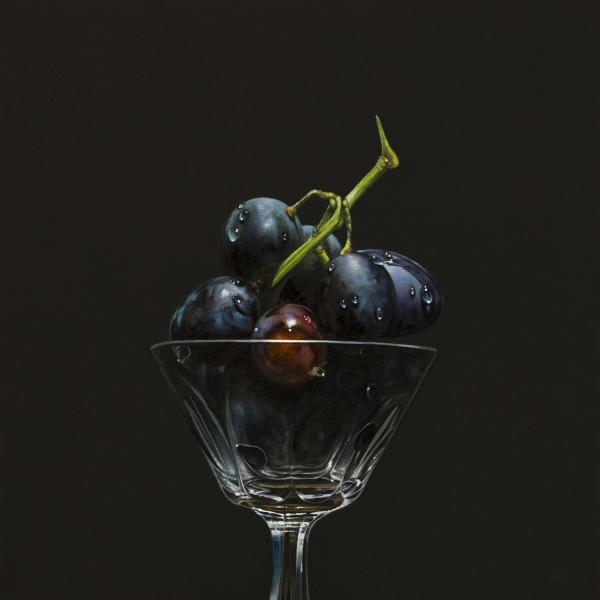 Aperitif No. 2, oil on panel, 12 x 12 inches  SOLD