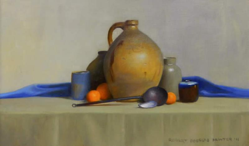 Untitled Still Life, oil on canvas, 14 x 24 inches  SOLD