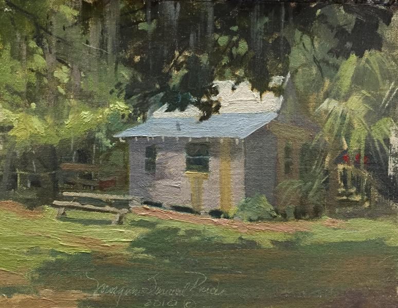 Home Sweet Home, oil on canvas, 6 x 8 inches, $1,500