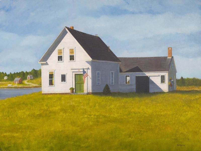 The House Sitter, oil on panel, 18 x 24 inches, $6,000