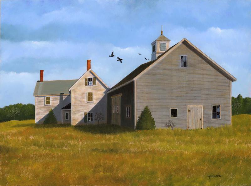 If Walls Could Talk, oil on panel, 12 x 16 inches, $3,500