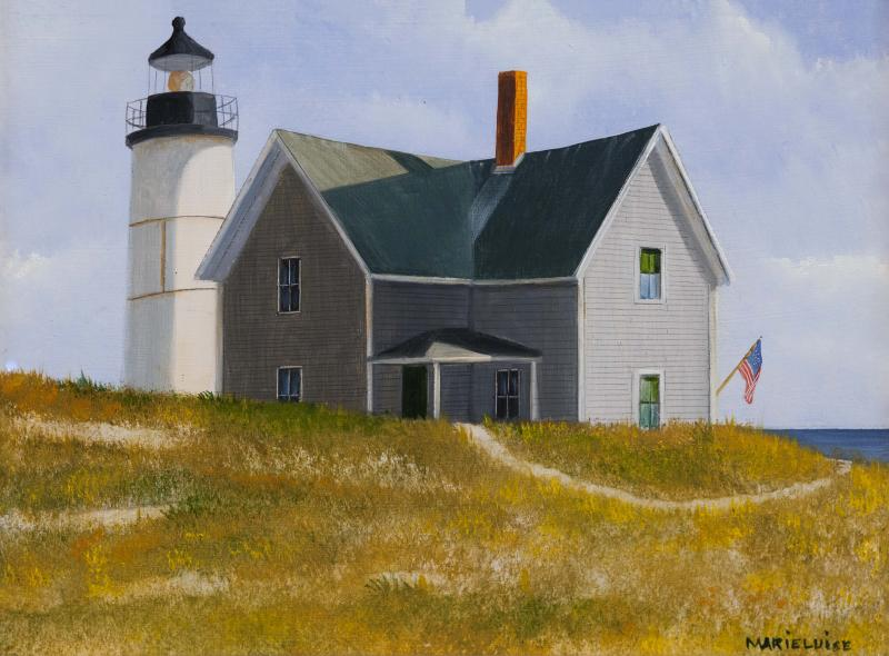 Sandy Neck, oil on panel, 6 x 8 inches  SOLD