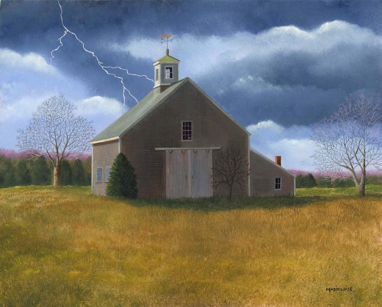 Storms Can Lead To Rainbows, oil on panel, 11 x 14 inches  SOLD