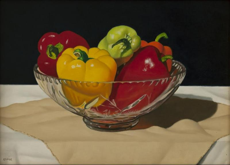 Summer Harvest, oil on panel, 6 x 8 inches, $2,000