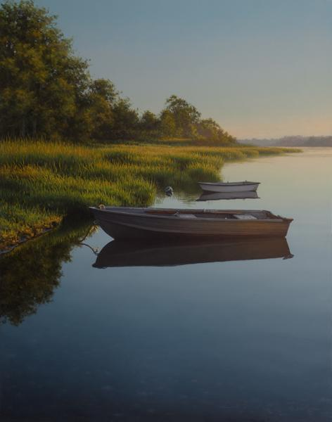 At Rest, oil on panel, 11 x 14 inches  SOLD