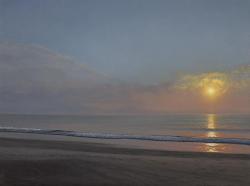 Shimmer, Study, oil on panel, 9 x 12 inches   SOLD