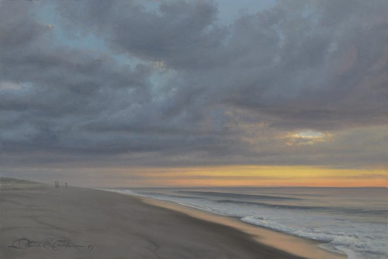 The Soft Light of Sunrise (Study), oil on panel, 12 x 9 inches  SOLD