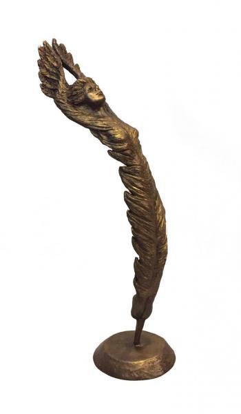 Arise, bronze, 14 x 4 x 4 inches, $1,400
