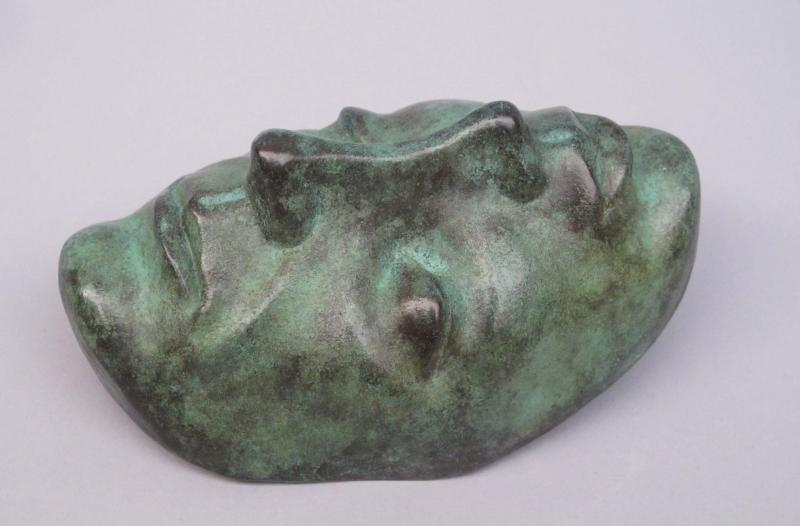 Mind Meld, bronze, 5 x 3 x 2 inches, $600