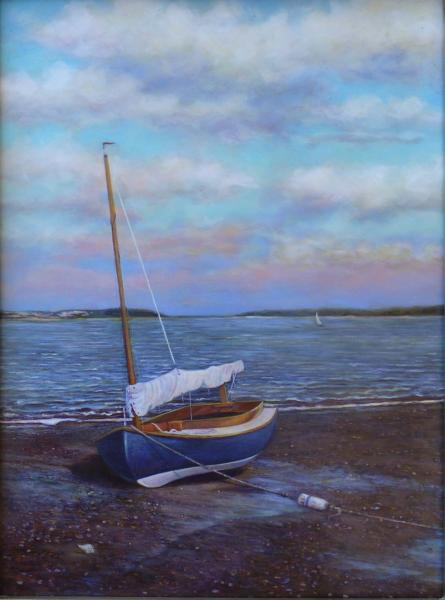 Tides Out, oil on panel, 9 x 12 inches  SOLD