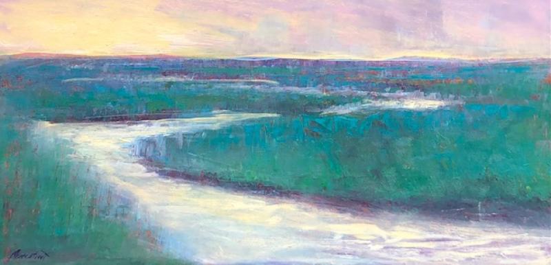 Wellfleet marsh dawn