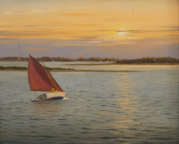 Towards the Sun, oil on canvas, 11 x 14 inches  SOLD