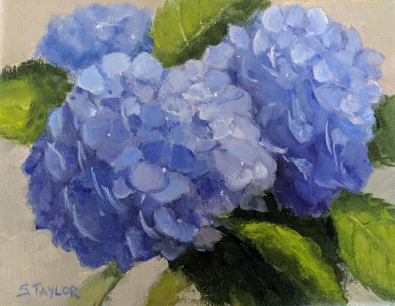True Blue, oil on canvas, 8 x 10 inches, $$ Please Inquire