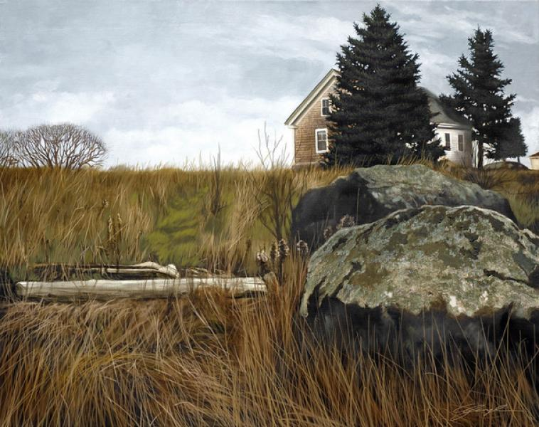 Micah's Place, oil on canvas, 32 x 40 inches, $6,800